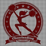 Cheerleading Silhouette Crochet Pattern