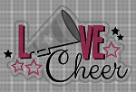 Love Cheerleading Crochet Pattern
