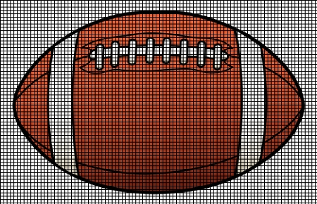 American Football Crochet Pattern