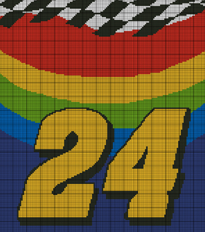 FREE GRAPH WHEN YOU BUY 2 COZYCONCEPTS JEFF GORDON 24 HOOD