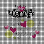 I Love Tennis Crochet Pattern