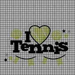 Tennis Love Crochet Pattern