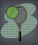 Tennis Racket Crochet Pattern