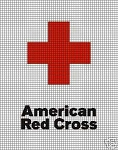 American Red Cross Crochet Pattern