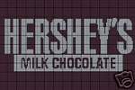 Hershey's Candy Bar Crochet Pattern