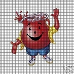 Koolaid Man Crochet Pattern