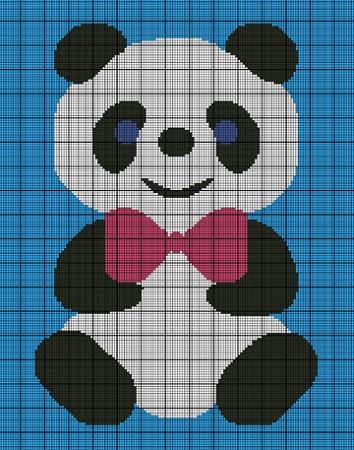 Little Panda Bear Crochet Pattern
