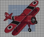 Red Airplane Crochet Pattern