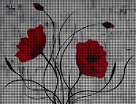 Poppies Picture Crochet Pattern