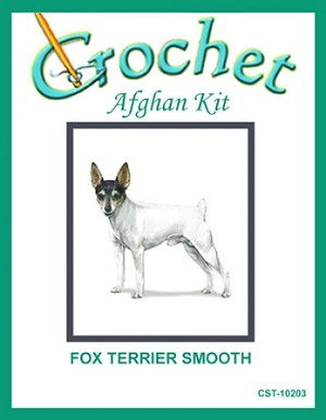 Fox Terrier Smooth Crochet Afghan Kit