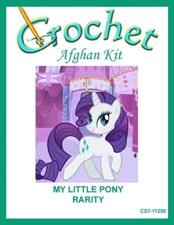 My Little Pony - Rarity Crochet Afghan Kit