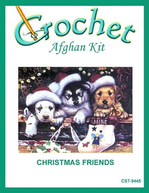 Christmas Friends Crochet Afghan Kit
