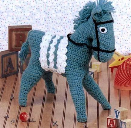 Crochet Horse Crochet Pattern