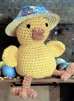 Easter Chick Crochet Pattern
