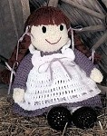 Little Pioneer Doll Crochet Pattern