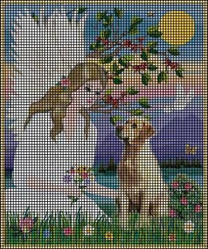 Angel Amp Yellow Lab Crochet Pattern
