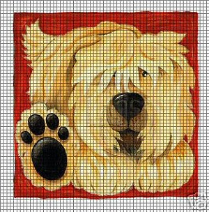 Scruffy Crochet Pattern