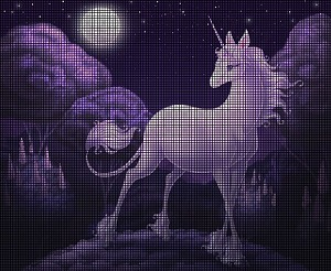 The Last Unicorn Crochet Pattern