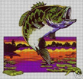 fishing crochet pattern
