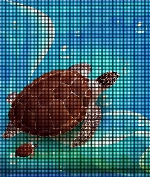 Turtle Family Swimming Crochet Pattern