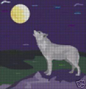 Howling Wolf Crochet Pattern