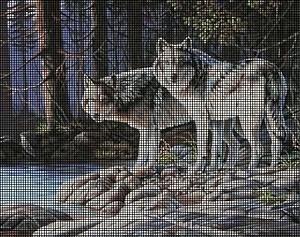 The Grey Wolves Crochet Pattern