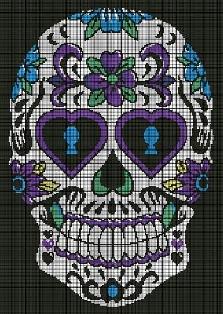 Trinlay K: Bob the Amigurumi Sugar Skull | 450x320