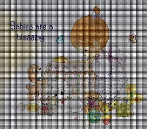Babies Are A Blessing Crochet Pattern