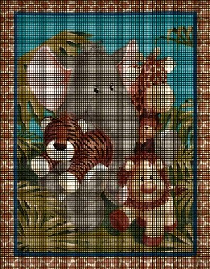 Baby Safari Dreams Crochet Pattern