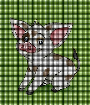 Little Pua Crochet Pattern