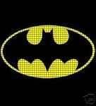 Batman Sign Crochet Pattern