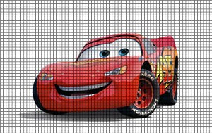 Cars - Lightning McQueen Crochet Pattern