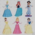 All The Princesses Crochet Pattern