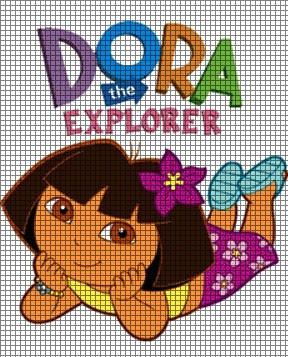 Knitting Pattern For Dora The Explorer Doll : Dora Laying Down Crochet Pattern