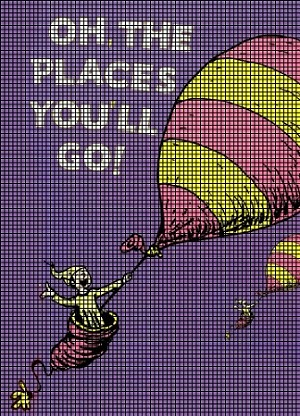 Oh The Places You Ll Go Crochet Pattern