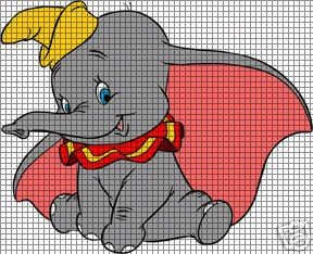 Smiling Dumbo Crochet Pattern