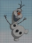 Olaf Is Happy Crochet Pattern