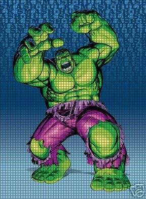 Incredible Hulk Angry Crochet Pattern