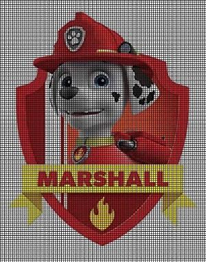 Paw Patrol Marshall Crochet Pattern