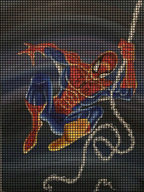 Spiderman Rope Crochet Pattern