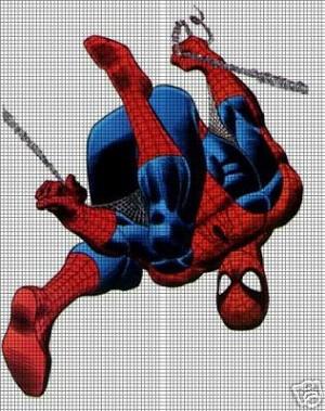 spiderman upside down crochet pattern
