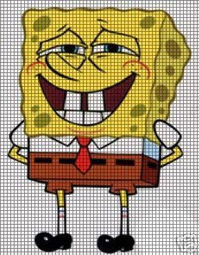 Spongebob Laughing Crochet Pattern