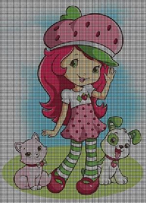 A Strawberry Shortcake Day Crochet Pattern