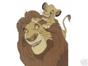 Lion King & Simba Crochet Pattern