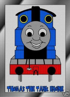 Thomas Knitting Pattern : Thomas The Tank Engine Crochet Pattern