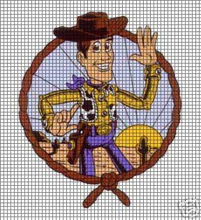 Toy Story Knitting Patterns Woody : Woody Portrait Crochet Pattern
