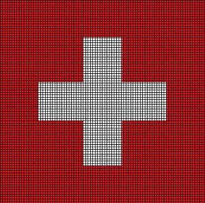 Switzerland Flag Crochet Pattern