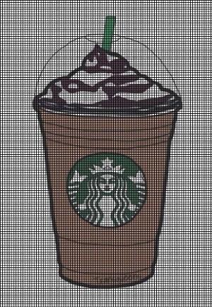 Starbucks Coffee Cup Crochet Pattern