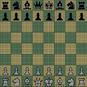 Chess Board Crochet Pattern