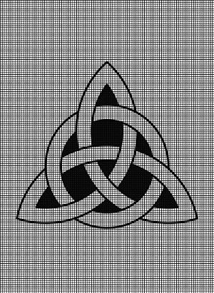 Celtic Trinity Knot Crochet Pattern